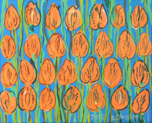 Tulipany brzoskwiniowe