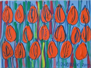 Toskańskie tulipany