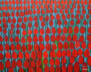 Krwiste tulipany