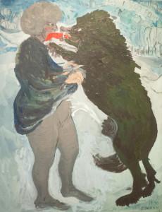 Pies i jego pani