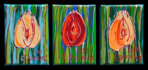 Tulipany-tryptyk