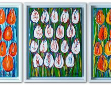 Tulipany – tryptyk