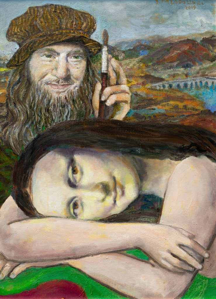 Leonardo i Mona lisa